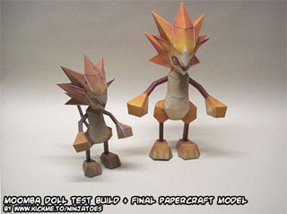 Moomba Doll Papercraft