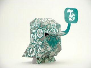 JibJib Paper Toy