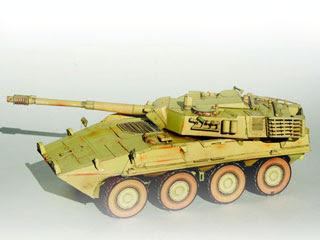 B1 Centauro Tank Papercraft