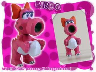 Birdo Papercraft