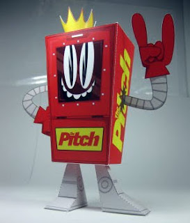 Pitch Bot Papercraft
