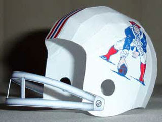Football Helmet Papercraft