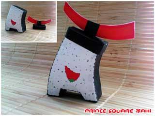 Prince Square Maki Papercraft