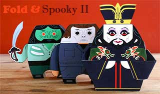 Halloween Monsters Papercraft