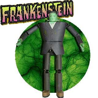 Frankenstein Papercraft