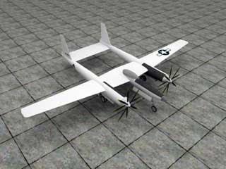 Hughes XF-11 Papercraft