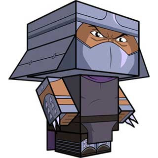 Shredder Papercraft