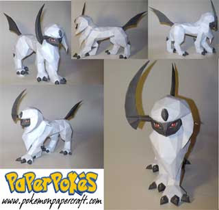 Pokemon Absol Papercraft