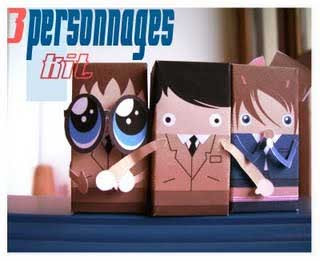 3 Witnesses Papercraft