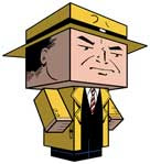Dick Tracy Papercraft