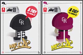Mr Cap Paper Toy