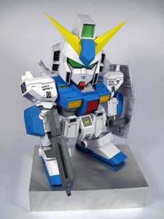 Gundam Alex Papercraft