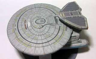 Nebula-class Starship Papercraft