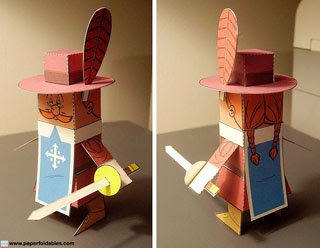 Porthos Papercraft