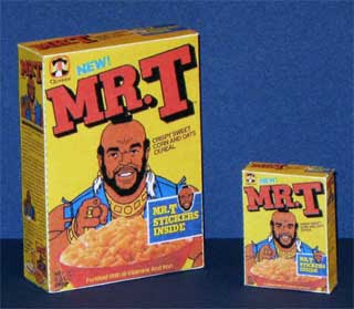Mr. T Cereal Box Papercraft