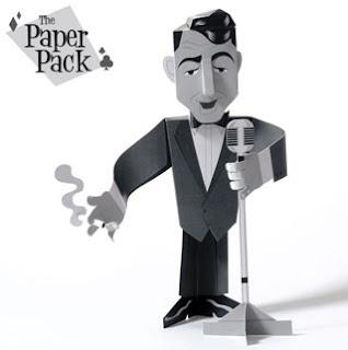 Dean Martin Papercraft