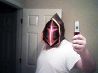 WoW Paladin Judgement Helmet Papercraft