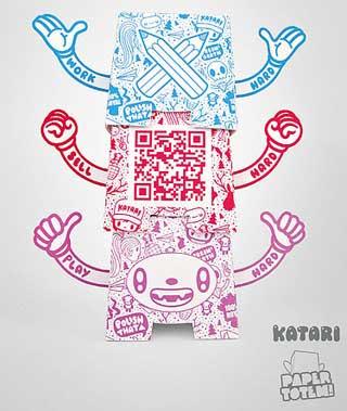 Paper Totem Katari