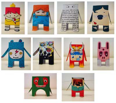 Yubba Project Paper Toys Batch 1