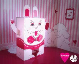 Barbiatch Paper Toy