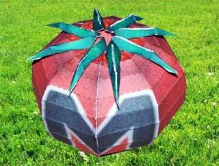 Maxim Tomato Papercraft