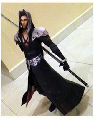 Dissidia Final Fantasy Sephiroth Papercraft
