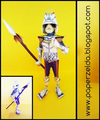 Captain Viscen Papercraft