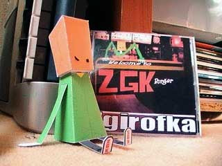 Bagface Crearture Paper Toy