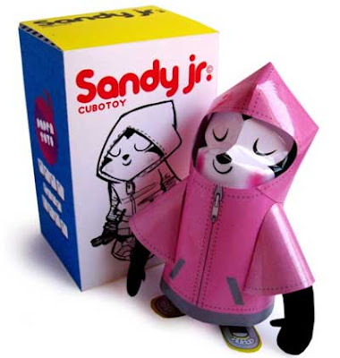 Cubotoy Sandy Jr. Paper Toy