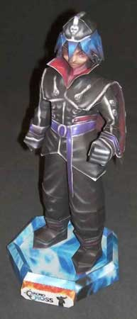 Chrono Cross - Dark Serge Papercraft ~ Paperkraft.net - Free ...