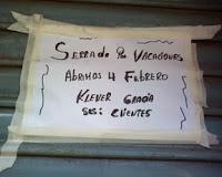 Ejemplo de castellano creativo. Foto de María José