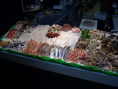 la parada de mercado del restaurante el peixet de l'hospitalet de llobregat