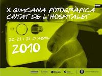 logo de la x gimcana fotografica de l'hospitalet