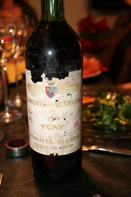 el vino del año que nació Albert, la foto es de Albert