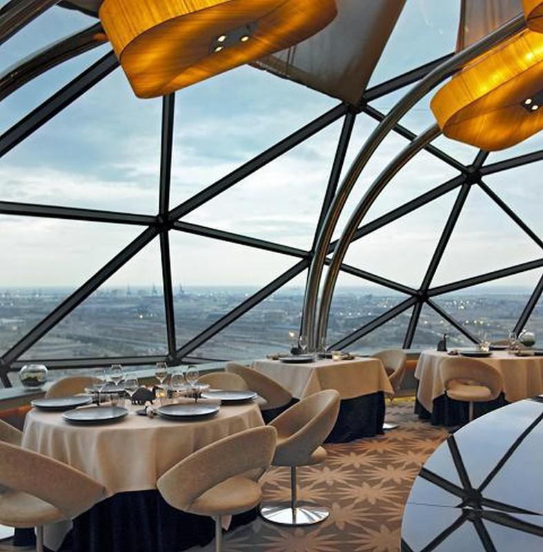 Bloghospitalet restaurante evo - Abreviatura de arquitecto ...