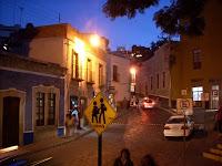 Guanajuato al anochecer