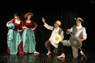 El quijote, de la Mancha al Mar, de la compañía Plaudite Teatre