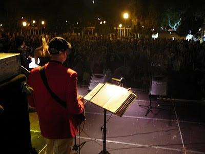 La orquesta Sabor Sabor en su actuación del año pasado, la foto está sacada de su página web