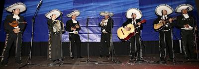 Mariachis en la Feria Vive Latinoamerica