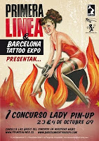 cartel del concurso Lady Pin Up