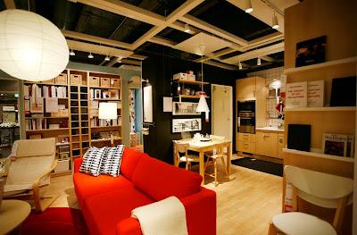 detalle de la tienda Ikea de l'Hospitalet, foto cedida por Ikea