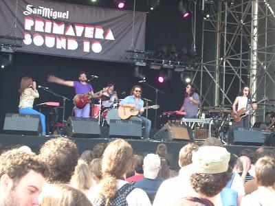 Bigott en el Primavera Sound 2010