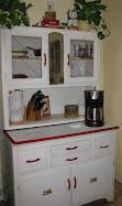 Hoosier style cabinet SOLD