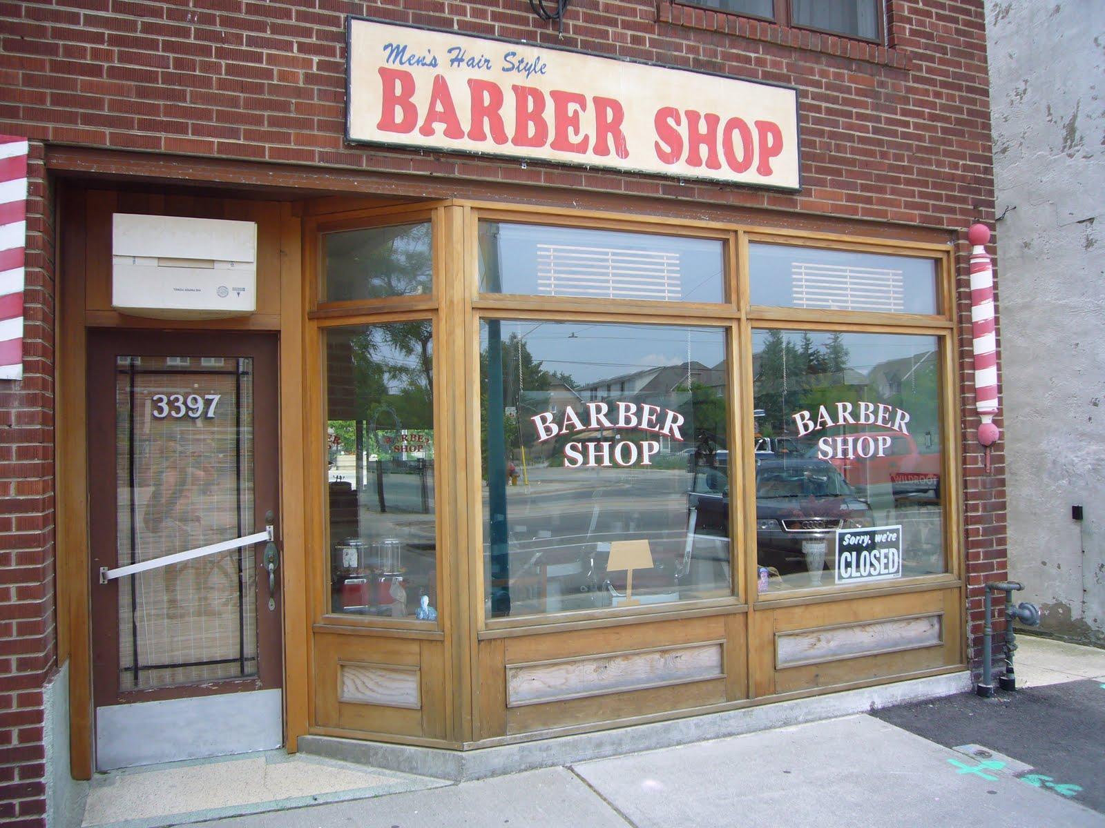 Lost toronto old mimico barber shop
