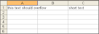 Prevent Text Overflow In Other Cell Ask Libreoffice