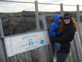 Mid-Atlantic Ridge in Iceland