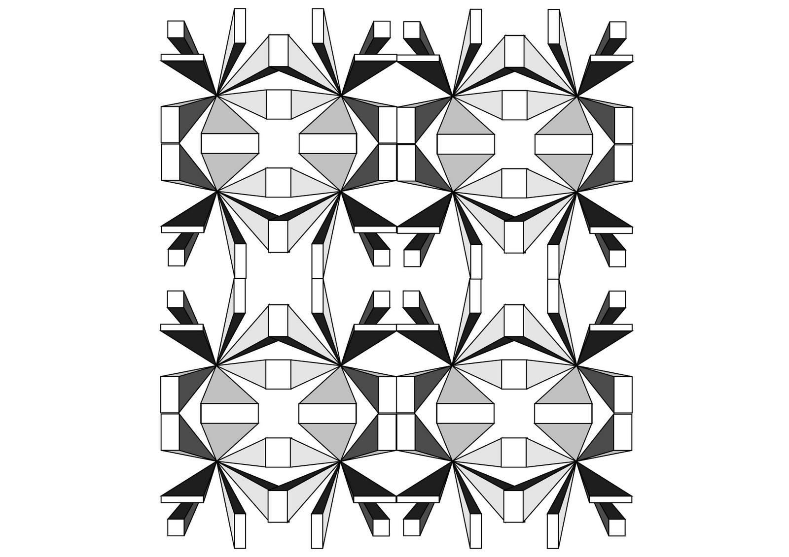 digital design and visualisation patterns from design styles. Black Bedroom Furniture Sets. Home Design Ideas