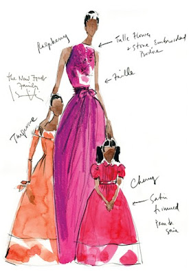 Isaac Mizhrahi sketch for