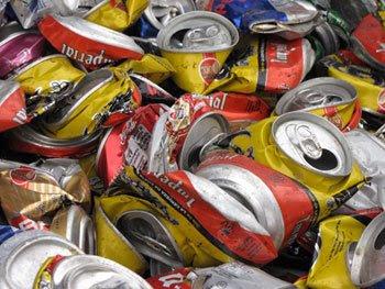 Casas ecol gicas basura y reciclaje - Aluminios escaso ...