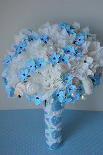 beach theme wedding bouquet